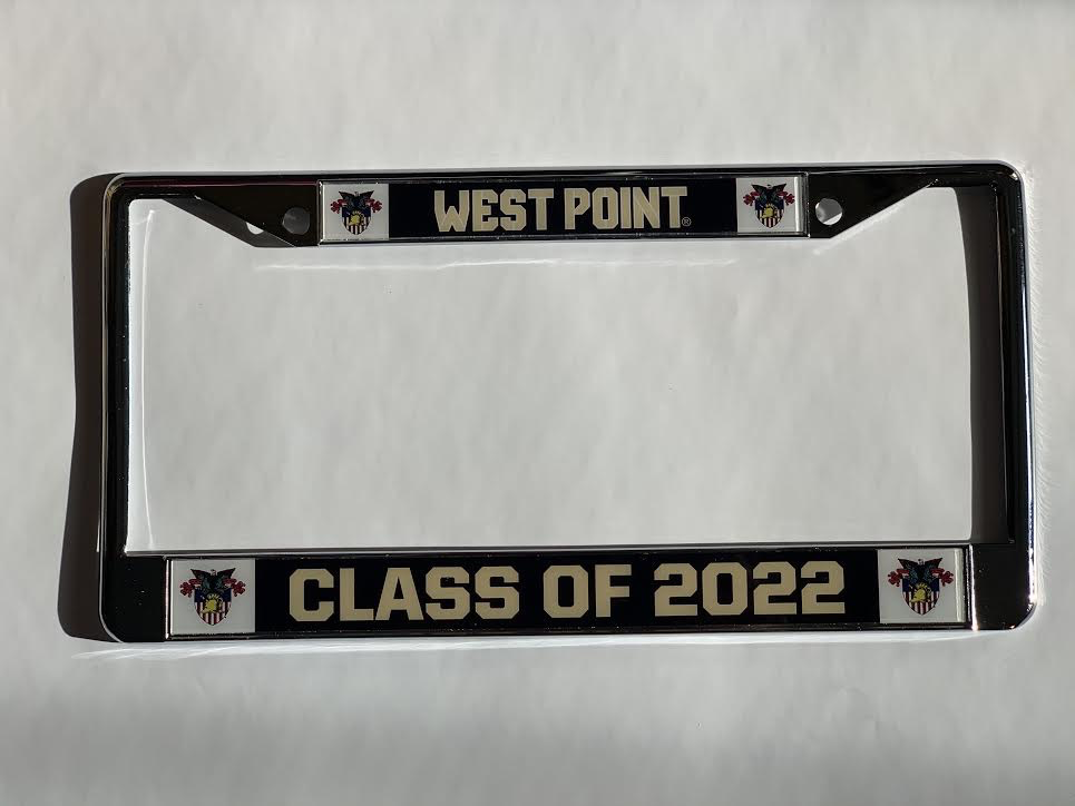 Class of 2022 License Plate Frame