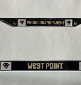 "West Point ""Proud Grandparent ""License Plate Frame"