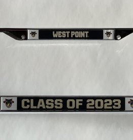 West Point Class of 2023 License Plate Frame