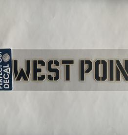 Stencil West Point Decal