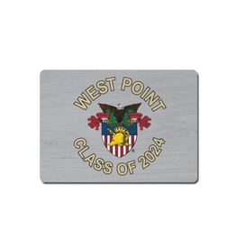 West Point Class of 2024 Wooden Magnet