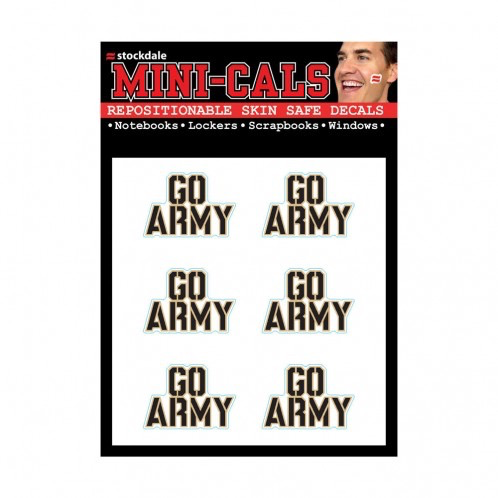 GO ARMY Face Cals (Decals)