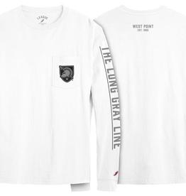 Vintage Wash L/S T-Shirt (Long Gray Line)