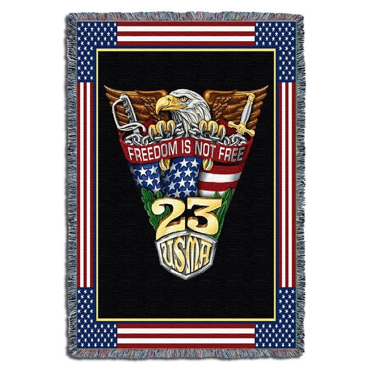 West Point Class of 2023 Crest Throw (52 x 74 inches) PREORDER