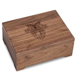 West Point Solid Walnut Desk Box