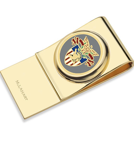 West Point Enamel Money Clip