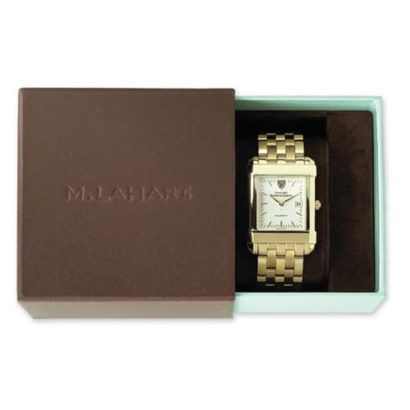 West Point Women's Gold Quad Watch with Bracelet