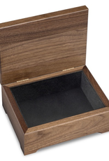 West Point Solid Walnut Desk Box