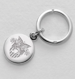 West Point Sterling Silver Insignia Keyring