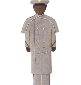 Male/GRAY OVERCOAT/Cadet Ornament/(St. Nicholas)