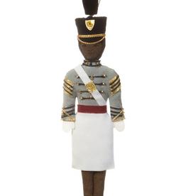 Female/Af Amer/ TARBUCKET/Cadet Ornament (St. Nicholas)