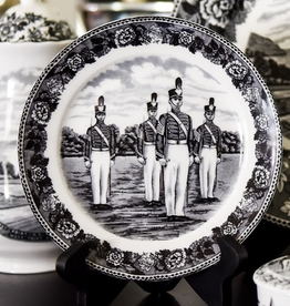 West Point China Salad/Desser Plate