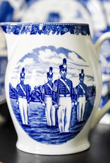 Liverpool Jug (West Point China), Blue, 12""