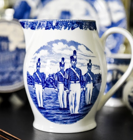 """Liverpool Jug in Blue, West Point China, 12"""""""