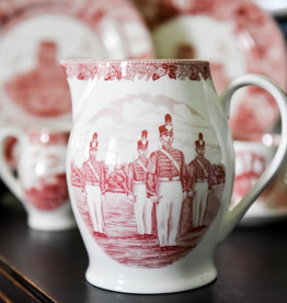 Liverpool Jug in Rose, West Point China, 12""