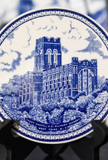 West Point China Trivet in Blue