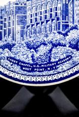 Trivet, West Point China, Cadet Chapel (Blue)