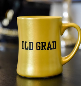Metallic Gold OLD GRAD Mug (16 ounce)