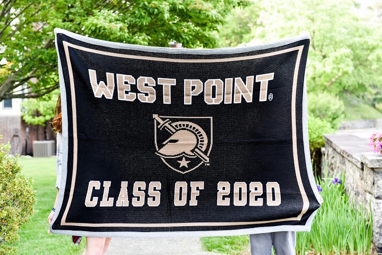 """SALE! West Point Class of 2020 Knit Blanket (63"""" x 53"""")"""