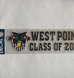 SALE! West Point Class of 2020 Decal with Crest, (3 x 10)