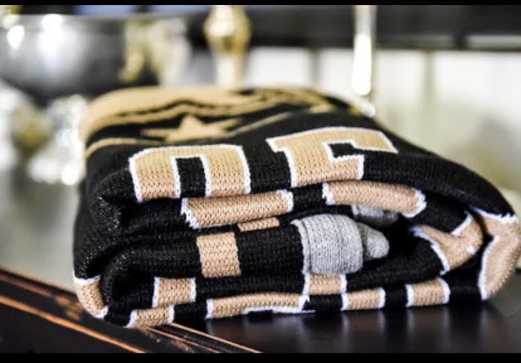 "West Point Class of 2021 Knit Blanket  (63"" x 53"")"