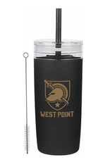 32 oz, West Point  Acrylic Tumbler with Silicone Sleeve and Straw