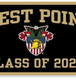 West Point Class of 2024 Banner (18 x 36 Inches), WPT Crest