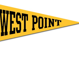 West Point Pennant on Stick