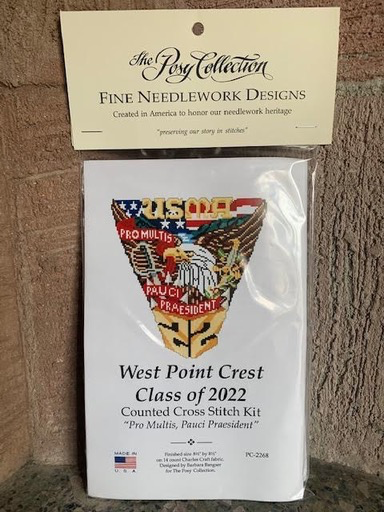 West Point Class of 2022 Cross Stitch Kit