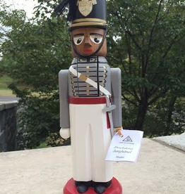 SOLD OUT: USMA Cadet, Male Nutcracker,  Black, Made in Germany.