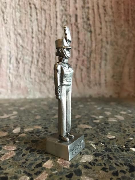 Large Female Cadet Pewter Figure (2.5 inch)