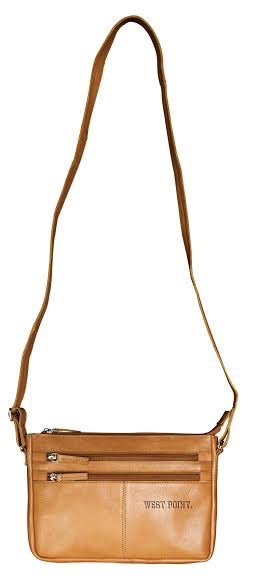 Zion Canyon Crossbody (Tan/Leather)