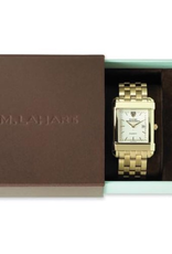 West Point Women's Gold Quad Watch with Bracelet (Special Order)