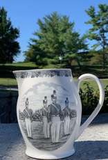 Liverpool Jug (West Point China), Black, 12 inches