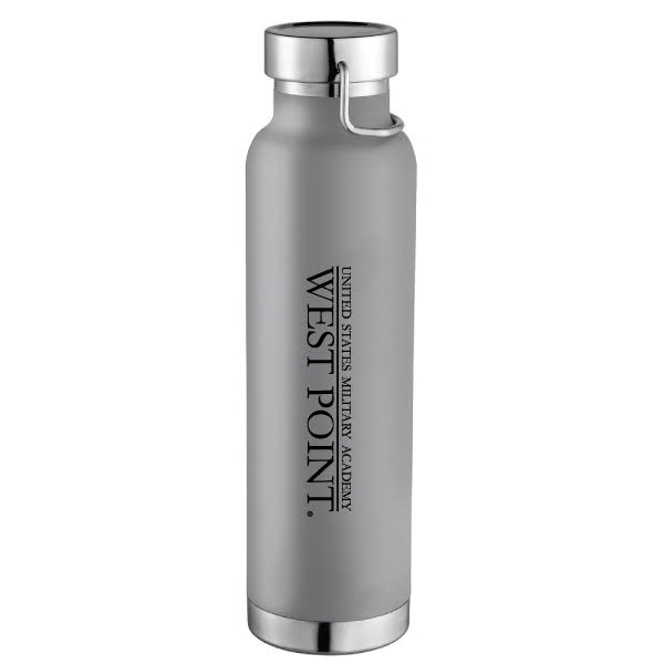 22 oz Insulated Water Bottle(Gray)