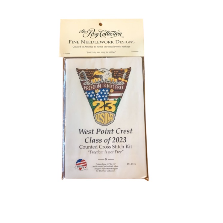 West Point Class of 2023 Cross Stitch Kit (Posy Collection)