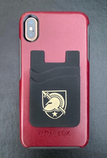West Point Dual Pocket Silicone Wallet (Attaches to I-Phone)