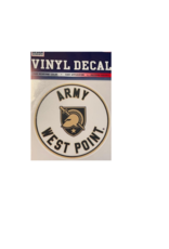"Vinyl Decal 3"" , Army West Point"