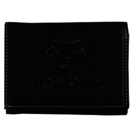 Trifold West Point/Crest Wallet (Black)