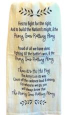 """Army Song"" Tea Towel"