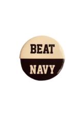 """BEAT NAVY"" Button (Pins On)"