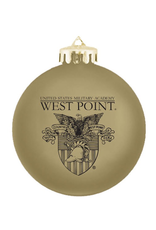 Holiday/Shatterproof Single Ornament (West Point/Crest)