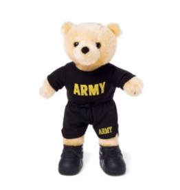 U.S. Army Bear in PT Uniform (10 inch)