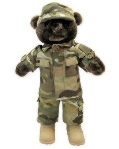 U.S. Army Camo Male Teddy Bear (10 inch)