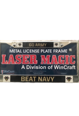 """""""Go Army Beat Navy"""" License Plate Frame"""