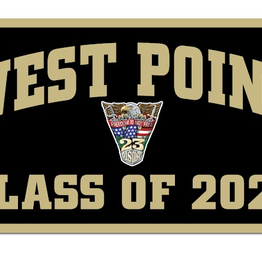 West Point Class of 2023 Banner (Class Specific Crest) 18 x 36 inches