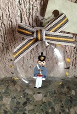 Hand Painted Cadet Ornament (Glass/S. Arney)