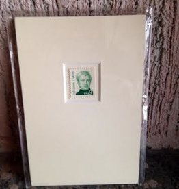 Sylvanus Thayer Matted Stamp