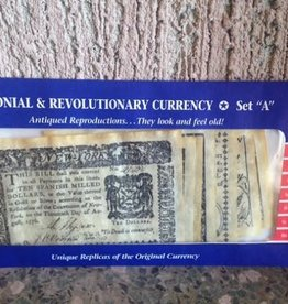 """Colonial and Revolutionary Currency (Set """"A"""")"""