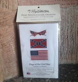 Flags of the Civil War Cross Stitch Kit (Posy Collection)